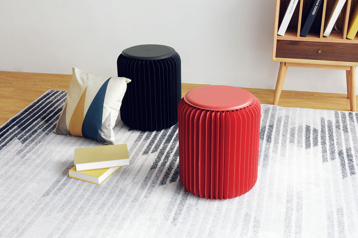 Sensational Paper Stool Papirho Caraccident5 Cool Chair Designs And Ideas Caraccident5Info